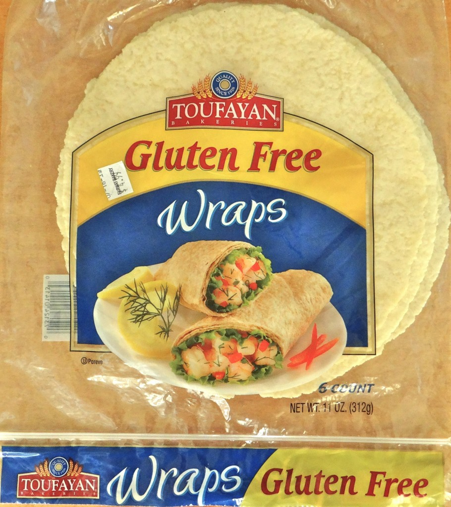 Package of Toufayan GF Wraps