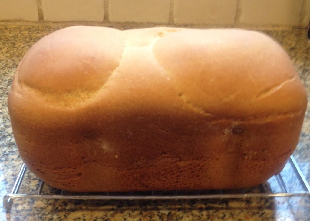 Bread machine loaf
