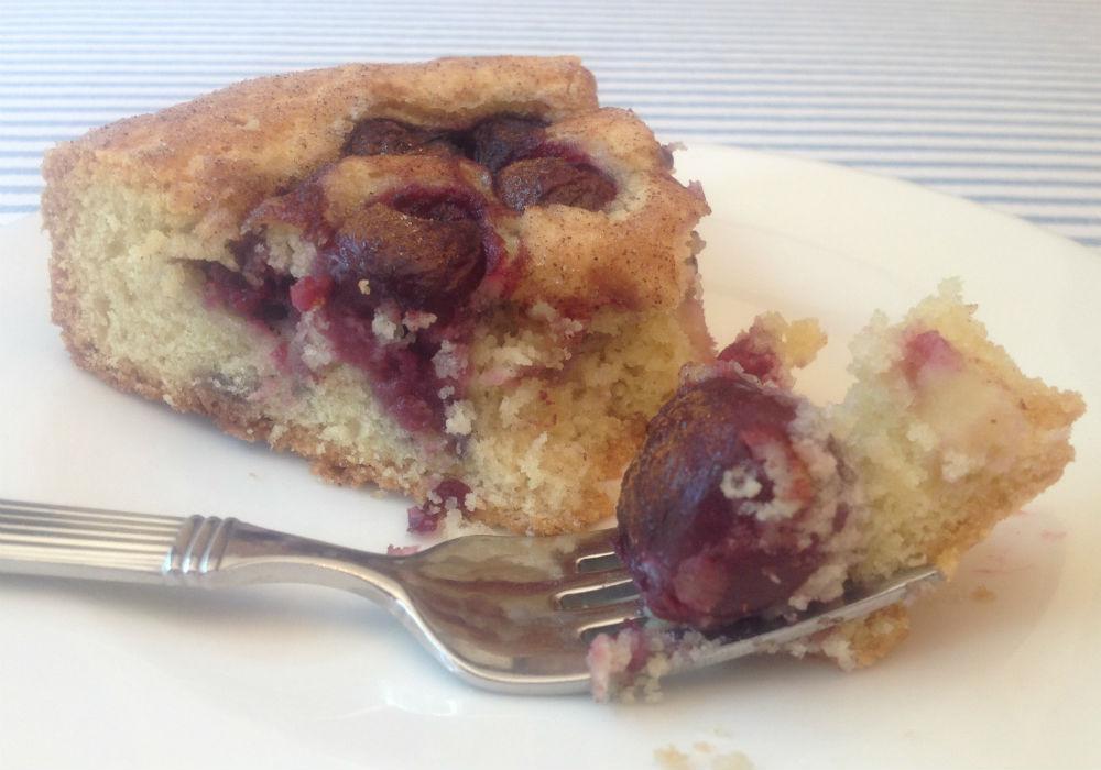 cherry torte sliceedited